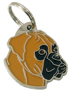 BOXER FAWN - pet ID tag, dog ID tags, pet tags, personalized pet tags MjavHov - engraved pet tags online