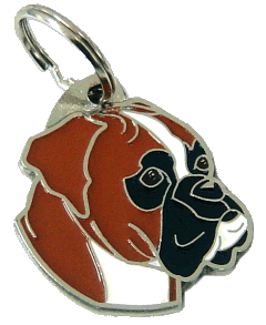 BOXER - pet ID tag, dog ID tags, pet tags, personalized pet tags MjavHov - engraved pet tags online