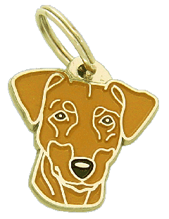 PINSCHER RED - pet ID tag, dog ID tags, pet tags, personalized pet tags MjavHov - engraved pet tags online