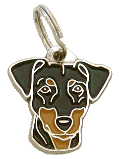 PINSCHER - pet ID tag, dog ID tags, pet tags, personalized pet tags MjavHov - engraved pet tags online