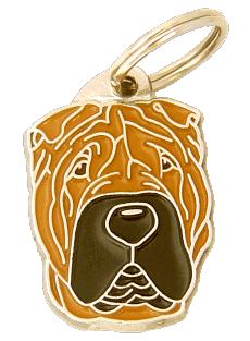 SHAR PEI - pet ID tag, dog ID tags, pet tags, personalized pet tags MjavHov - engraved pet tags online