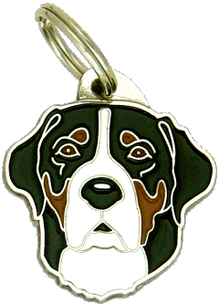 GREATER SWISS MOUNTAIN DOG - pet ID tag, dog ID tags, pet tags, personalized pet tags MjavHov - engraved pet tags online