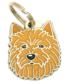 NORWICH TERRIER - pet ID tag, dog ID tags, pet tags, personalized pet tags MjavHov - engraved pet tags online