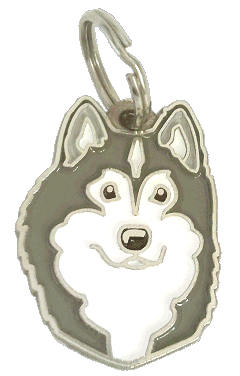 ALASKAN MALAMUTE - pet ID tag, dog ID tags, pet tags, personalized pet tags MjavHov - engraved pet tags online
