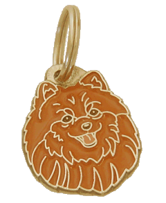 POMERANIAN - pet ID tag, dog ID tags, pet tags, personalized pet tags MjavHov - engraved pet tags online