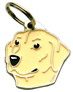 LABRADOR RETRIEVER CREAM - pet ID tag, dog ID tags, pet tags, personalized pet tags MjavHov - engraved pet tags online