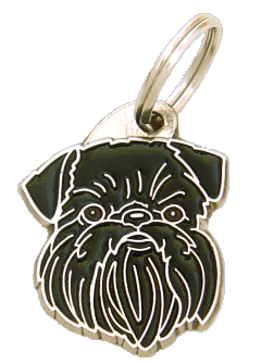 GRIFFON BELGE - pet ID tag, dog ID tags, pet tags, personalized pet tags MjavHov - engraved pet tags online