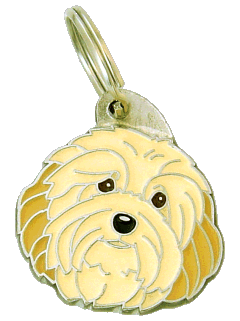HAVANESE CREAM - pet ID tag, dog ID tags, pet tags, personalized pet tags MjavHov - engraved pet tags online